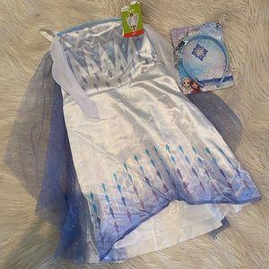 Disney's frozen 2 Elsa costume (D)